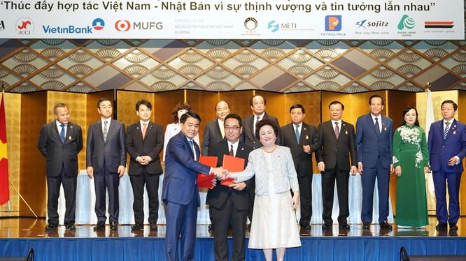 Các doanh nghiệp Nhật Bản cam kết đầu tư 3,75 tỷ USD vào các dự án tại Hà Nội/ Ảnh: hanoi.gov.vn