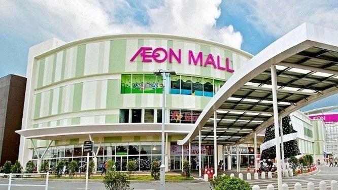 Tập đoàn AEON hiện đã xây dựng 02 Trung tâm thương mại tại Hà Nội.
