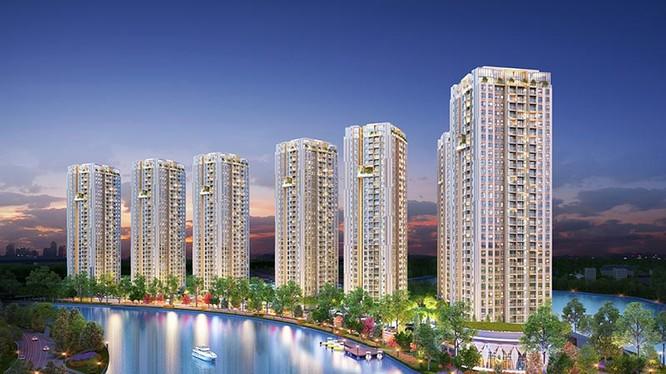 Dự án Gem Riverside tại Nam Rạch Chiếc, P. An Phú, Q.2 của Tập đoàn Đất Xanh.