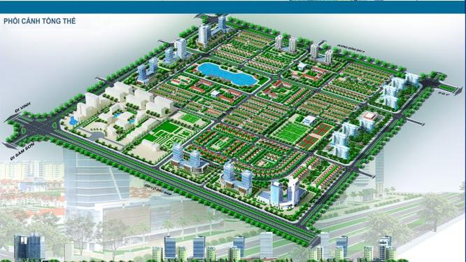 """Phối cảnh dự án đối ứng """"Khu đô thị mới thuộc Khu đô thị Nam thành phố Thanh Hóa""""."""
