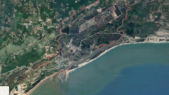 Dự án khu du lịch sinh thái Bình An thuộc xã Lộc An, huyện Đất Đỏ, Bà Rịa - Vũng Tàu.