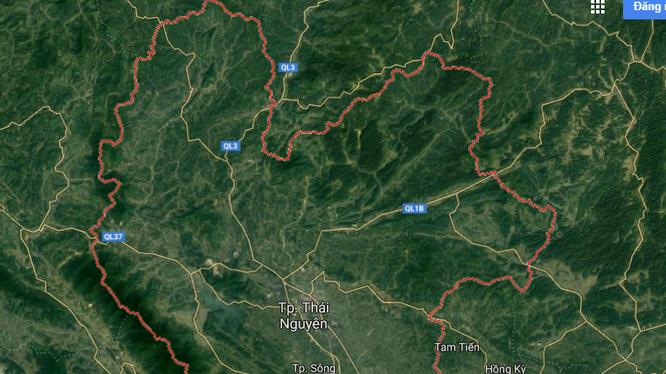 Tỉnh Thái Nguyên quyết định thu hồi chủ trương đầu tư Khu dân cư Kim Thành 10,6ha.