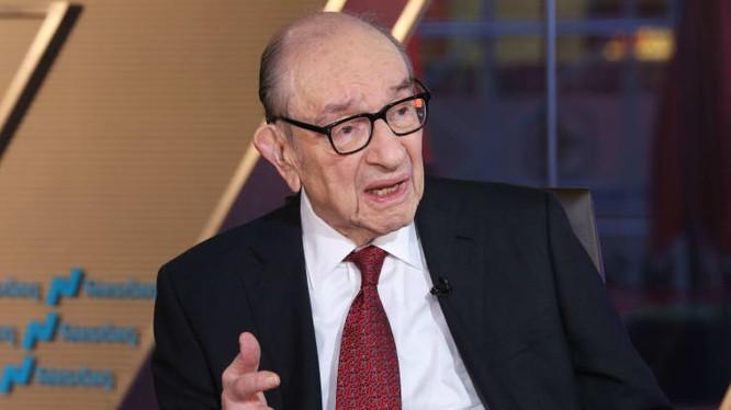 Alan Greenspan - cựu Chủ tịch Cục Dự trữ Liên bang Mỹ (Ảnh: CNBC)
