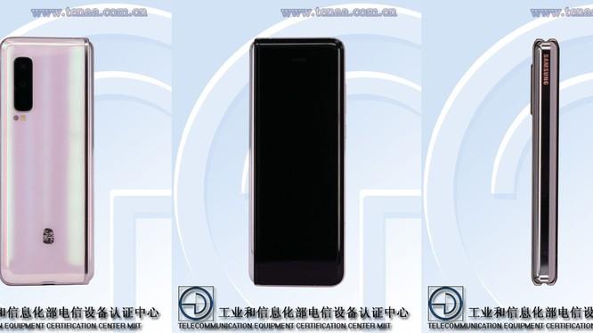 Những hình ảnh được cho là của chiếc Samsung W20 5G (Ảnh: Android Authority)
