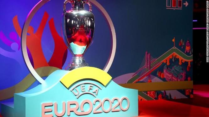 Lễ bốc thăm chia bảng Euro 2020 vừa diễn ra (Ảnh: CNN)