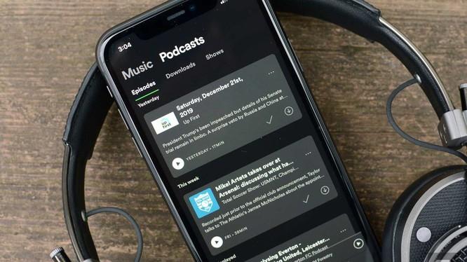 Spotify sẽ ngừng đăng tải các quảng cáo chính trị vào năm sau (Ảnh: Engadget)