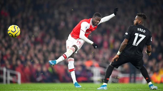 Pepe đã có một màn trình diễn tuyệt vời trong trận đấu đêm qua (Ảnh: The Guardian)