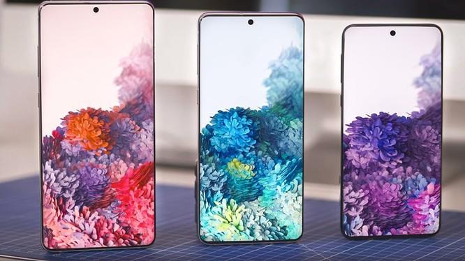 Dòng sản phẩm Samsung Galaxy S20 (Ảnh: XTmobile)