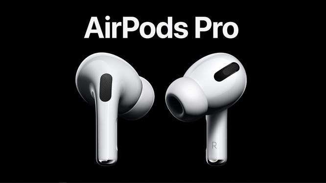 Chiếc AirPods Pro được Apple cho ra mắt vào cuối tháng 10 năm ngoái (Ảnh: hoanghamobile)