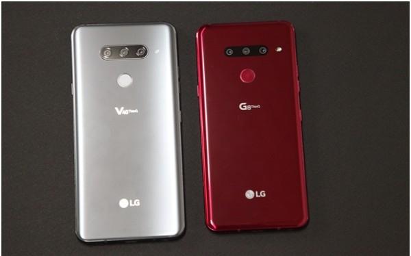 2 mẫu điện thoại cao cấp mới của LG (Ảnh: businesskorea)