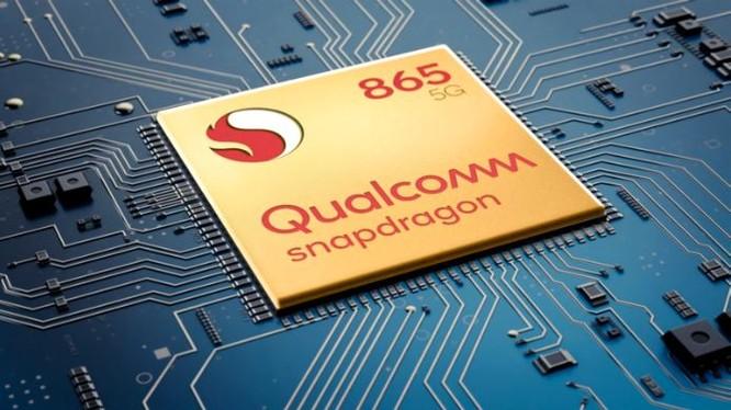 Snapdragon 865 là dòng chip mới nhất của Qualcomm (Ảnh: Gizmochina)
