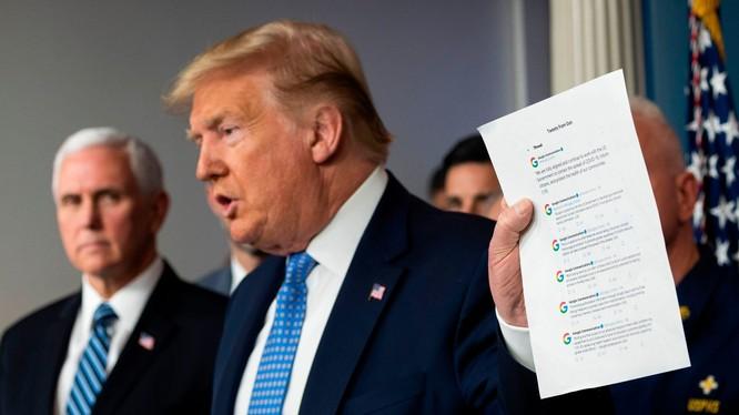 Tổng thống Donal Trump (Ảnh: techcrunch)