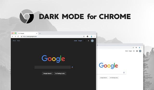 Chế độ Dark Mode trên Chrome (Ảnh: Internet)