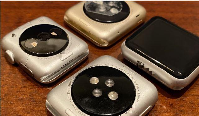 Những nguyên mẫu Apple Watch đời đầu (Ảnh: Zompetti)