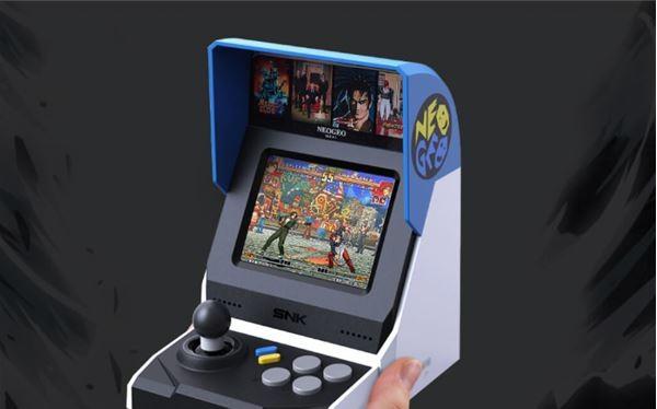 Máy chơi game NEOGEO Mini (Ảnh: Gizmochina)