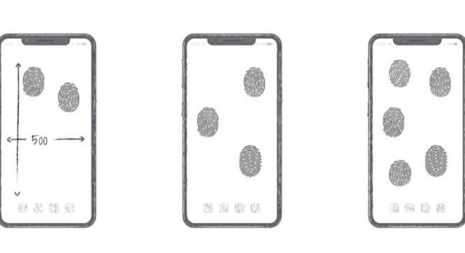 Công nghệ mở khóa vân tay toàn màn hình của Huawei (Ảnh: Gizmochina)