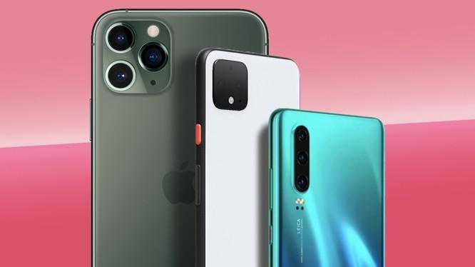 Những chiếc smartphone có cụm camera tốt nhất trên thị trường (Ảnh: Techradar)