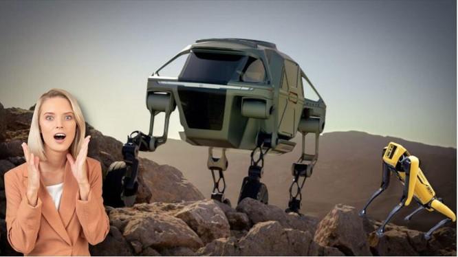 Những hiếc ô tô biết đi thường chỉ được nhìn thấy trong phim ảnh (Ảnh: The Next Web)