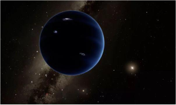 Ảnh phác họa hành tinh thứ 9 (Ảnh: sciencealert)