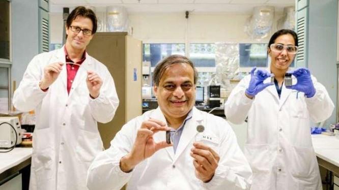 Các nhà khoa học phát minh ra keo dính từ trường (Ảnh: Phys)