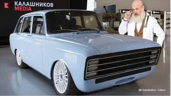 Dự án xe điện bí ẩn của Nga (Ảnh: The Next Web)