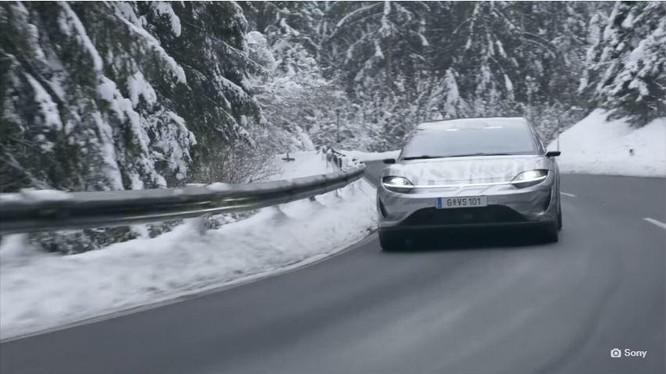 Chiếc xe hơi concept của Sony (Ảnh: The Next Web)
