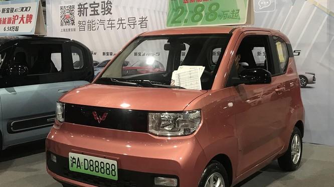 Chiếc xe hơi điện siêu rẻ tại Trung Quốc (Ảnh: The Next Web)