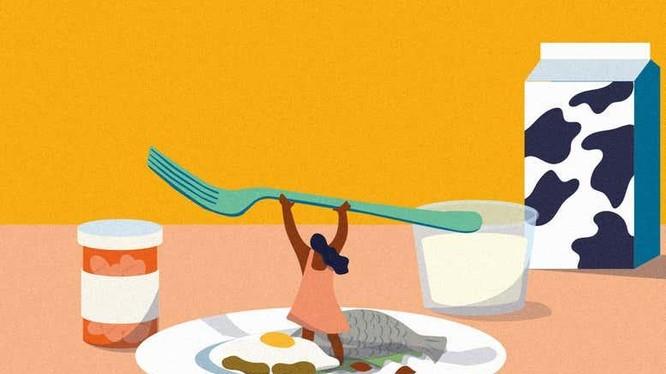 Dị ứng thực phẩm đem đến sự phiền toái cho con người (Ảnh: New Scientist)