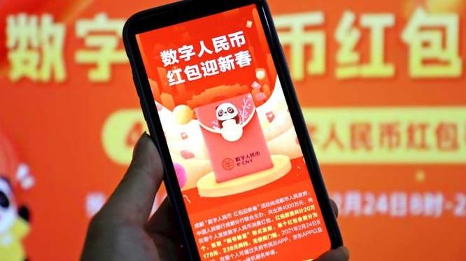 Tham vọng của Trung Quốc về đồng nhân dân tệ kỹ thuật số (Ảnh: CNBC)