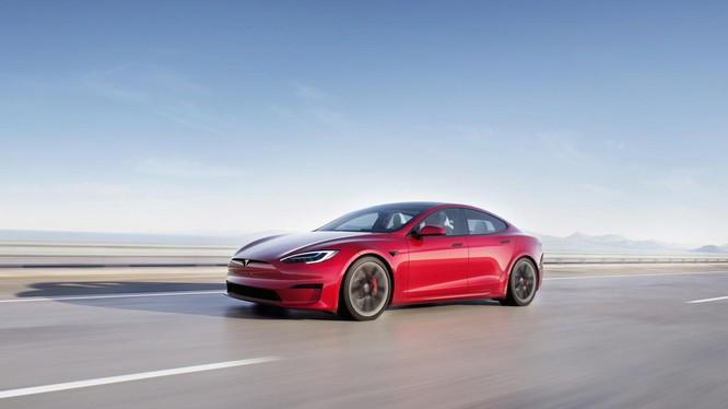 Tesla Model S (Ảnh: Tech Crunch)