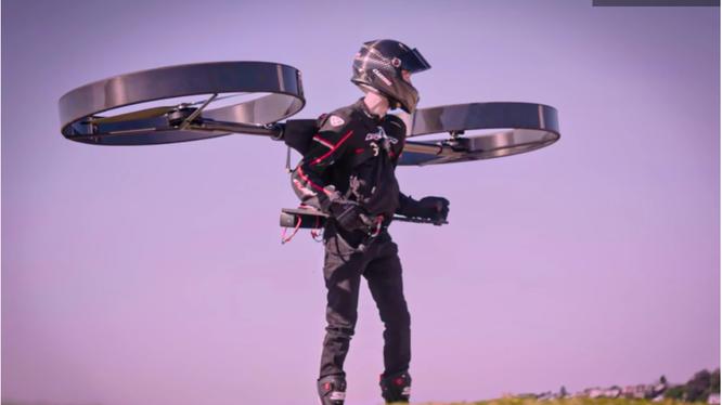 Thiết bị bay cá nhân được thử nghiệm tại Úc (Ảnh: Newatlas)