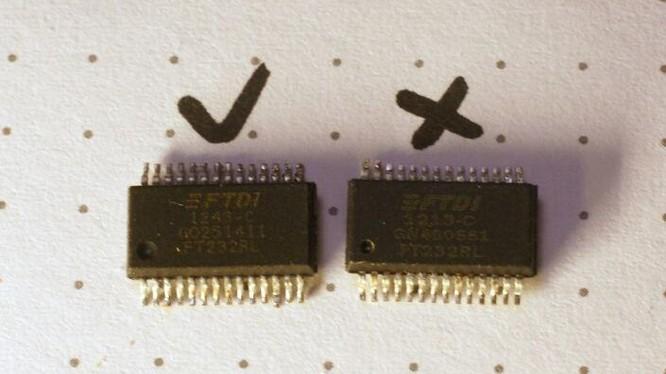 Chip giả đang xuất hiện tràn lan trên thị trường (Ảnh: Arstechnica)