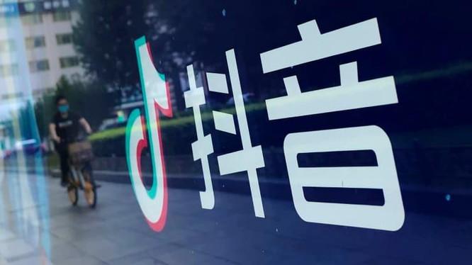 Một bảng quảng cáo ứng dụng video TikTok của Trung Quốc tại phố Wangfujing vào ngày 20 tháng 8 năm 2020, ở Bắc Kinh (Ảnh: CNBC)