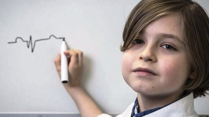 Laurent Simons - thiên tài vật lý 11 tuổi người Bỉ (Ảnh: Futurism)