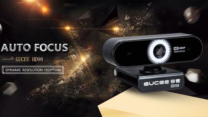 Gucee HD 98- mẫu webcam giá rẻ, đáp ứng tốt nhu cầu học tập và làm việc trực tuyến