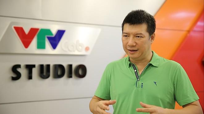 BLV Quang Huy. Ảnh: VTV Cab