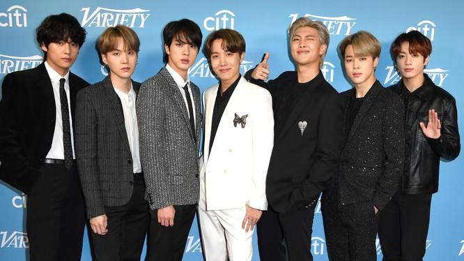 BTS là nhóm nhạc tài năng của xứ sở kim chi