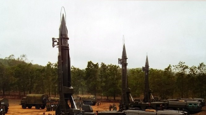 Tên lửa Scud của quân đội Việt Nam