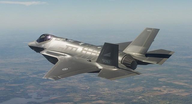 Máy bay tiêm kích F-35 của Mỹ