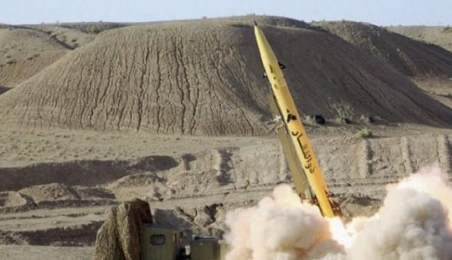 Lực lượng IRGC phóng tên lửa diệt khủng bố ở Syria