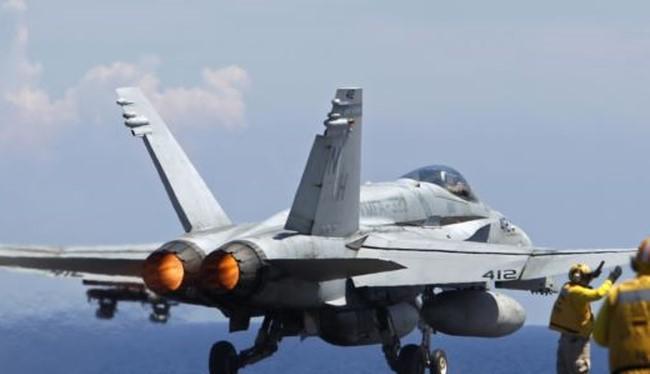 Chiếc Super Hornet F/A-18E của Mỹ đã bắn hạ Su-22 của quân đội Syria (Ảnh minh họa)