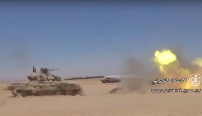 Quân đội Syria tấn công trên hướng Palmyra - Deir Ezzor
