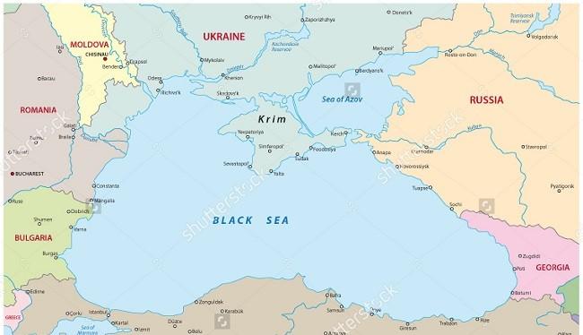 Biển Đen nằm ở vị trí địa chiến lược quan trọng với Nga