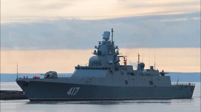 Tàu khu trục Gorshkov của Nga