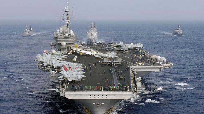 Dự kiến năm 2018 tàu sân bay Mỹ sẽ thăm cảng Việt Nam