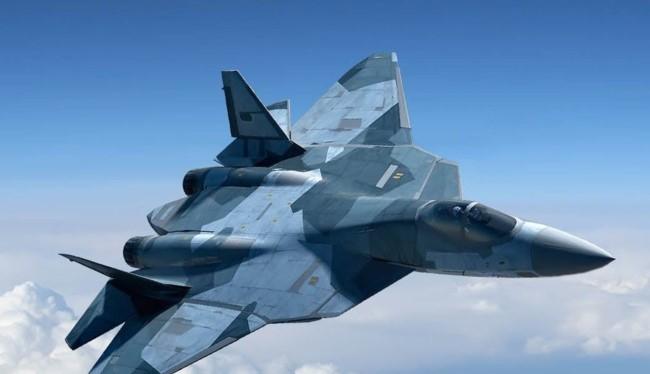 Máy bay tiêm kích tàng hình thế hệ 5 PAK-FA (Ảnh không quân vũ trụ Nga)