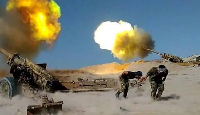 Quân đội Syria chiến đấu tại Deir ez-Zor (Ảnh minh họa)