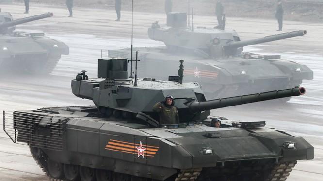 Siêu tăng Armata của Nga được xem là cuộc cách mạng về công nghệ tăng thiết giáp