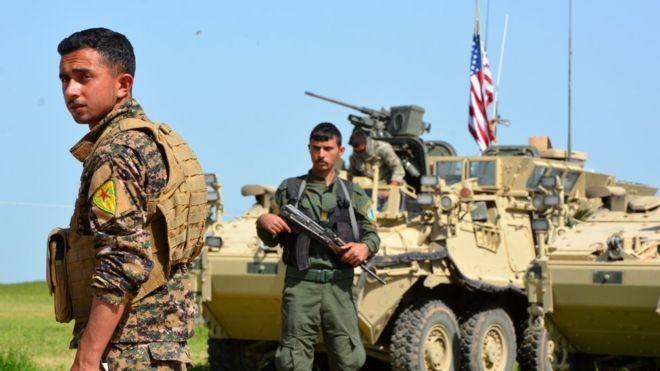 Người Kurd được Mỹ hậu thuẫn rất tích cực nhằm chia cắt lãnh thổ Syria