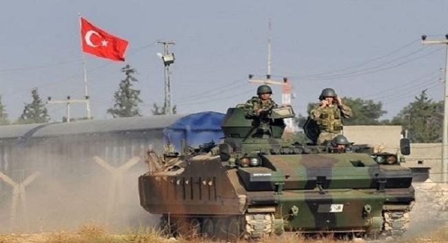 Quân đội Thổ Nhĩ Kỳ tràn qua biên giới Syria tấn công người Kurd